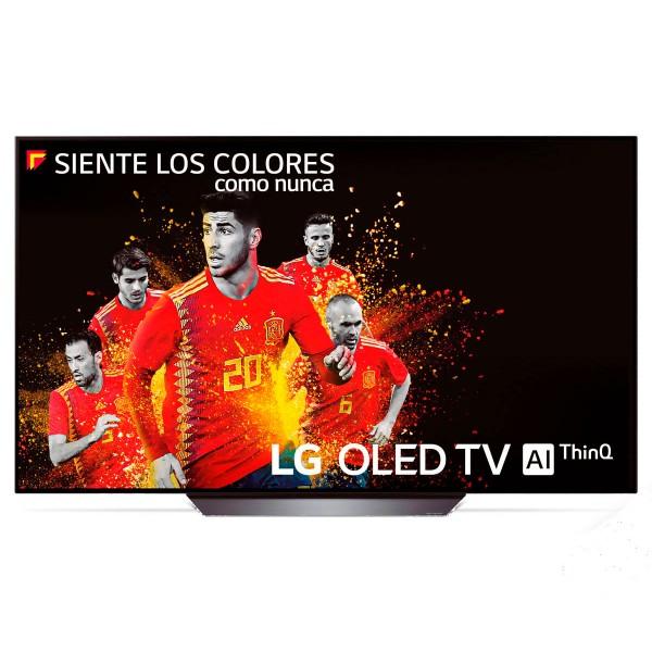 Lg 65b8pla televisor 65'' oled uhd 4k hdr thinq smart tv webos 4.0 wifi bluetooth sonido dolby atmos