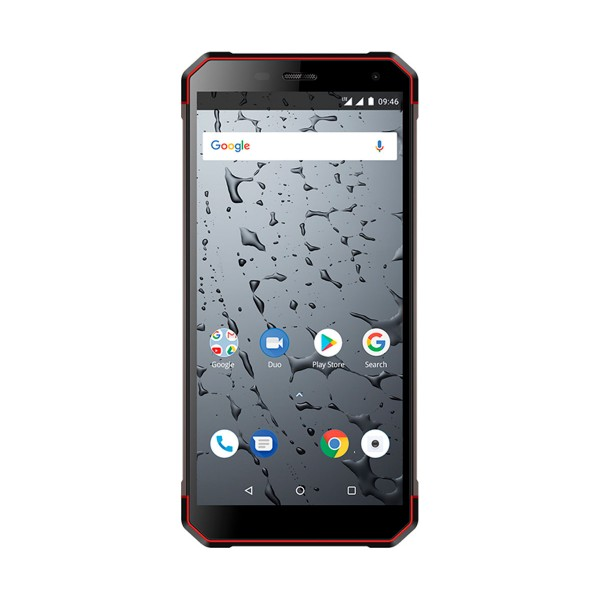 Maxcom ms571 negro rojo móvil rugerizado 3g ip68 dual sim 5.7'' 4core/32gb/3gb ram/13+0.3mp/5mp bluetooth nfc