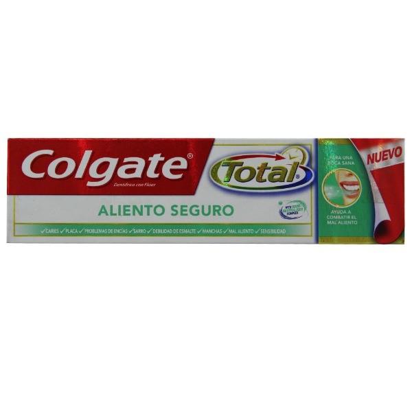 Colgate  dentífrico  Total Hálito Seguro 75 ml