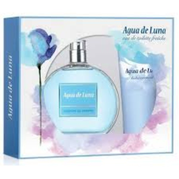 Agua de Luna set EDT 100 ml +  Loción corporal 75 ml