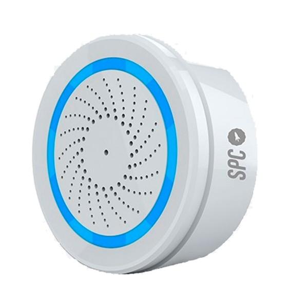 Spc 6314b sonus sirena inteligente wi-fi controlable remotamente con aplicación móvil