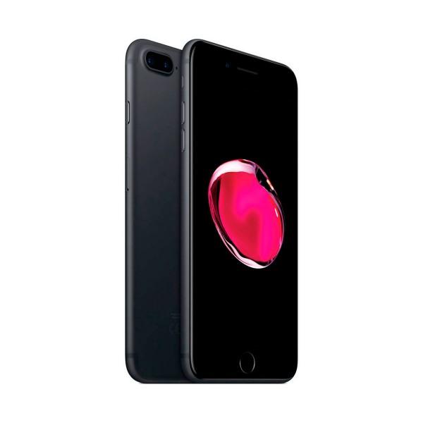 Apple iphone 7 plus 32gb negro mate reacondicionado cpo móvil 4g 5.5'' retina fhd/4core/32gb/3gb ram/12mp+12mp/7mp