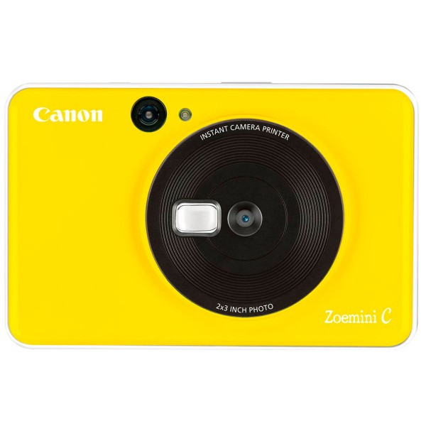 Canon zoemini c amarillo abejorro cámara 5mpx impresora instantánea 5x7.6cm