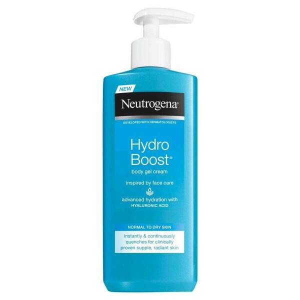 Neutrogena hydroboost body gel cream piel normal a seca 250ml