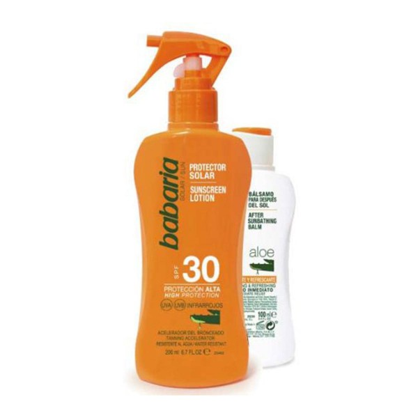 Babaria aloe vera spray spf30 200ml + after sun 100ml