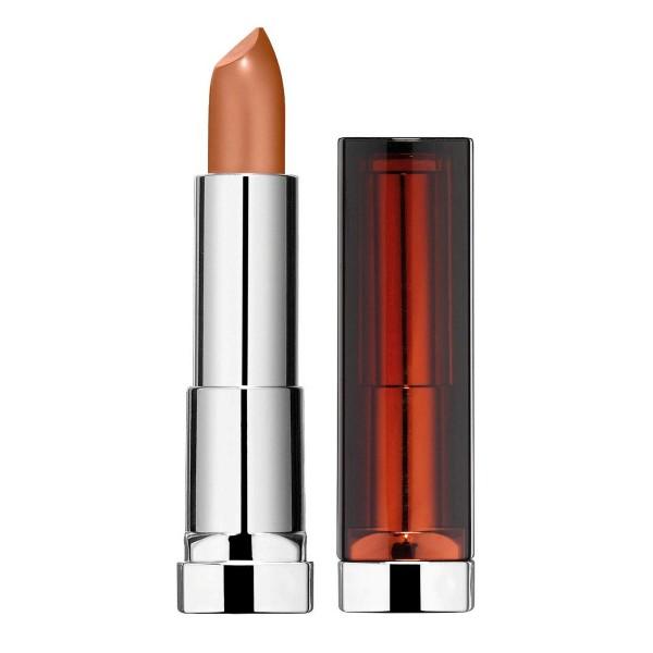 Maybelline color sensational matte metallics barra de labios 35 steel chic 1un