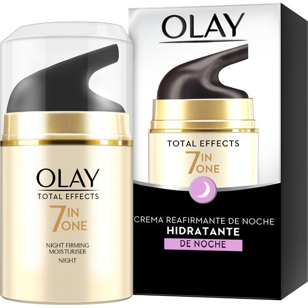 Olay Total Effects 7 In One , crema reafirmante de noche 50ml.