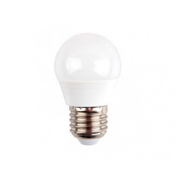 Sunmatic miniglobo bombilla led casquillo e27 6w 470 lumenes luz neutra 4200k