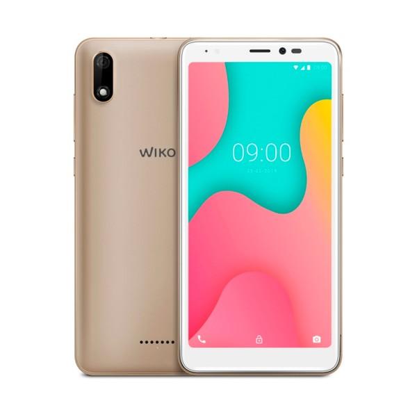 Wiko y60 oro móvil 4g dual sim 5.45'' tft fwvga+/4core/16gb/1gb ram/5mp/5mp