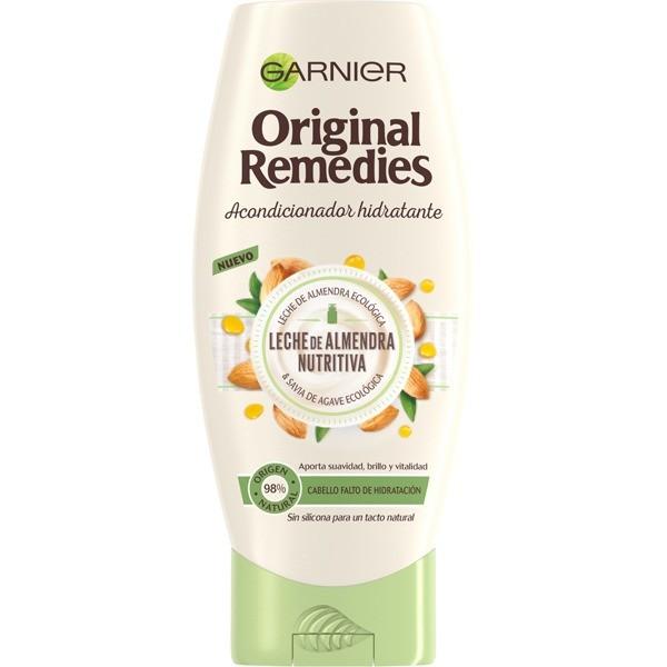 Garnier ORIGINAL REMEDIES Acondicionador Leche de Almendras Nutritiva, 250 ml