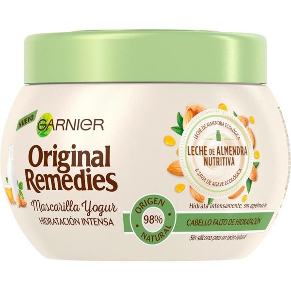Garnier ORIGINAL REMEDIES Mascarilla Leche de Almendras Nutritiva 300 ml