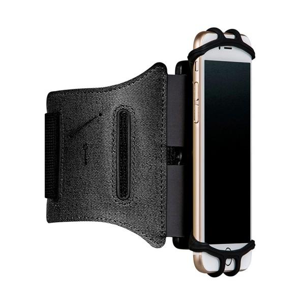 Muvit maarm002 negro soporte brazalete universal para móvil hasta 6''