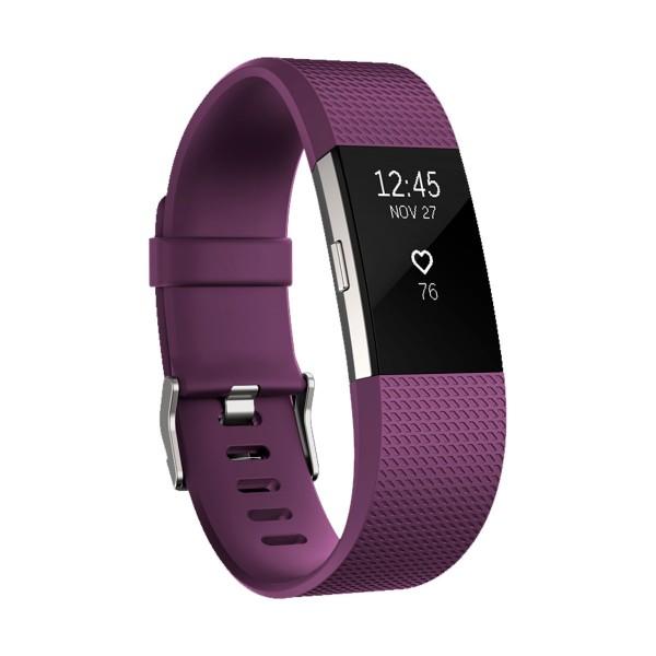 Fitbit charge 2 pulsera actividad ciruela tamaño s